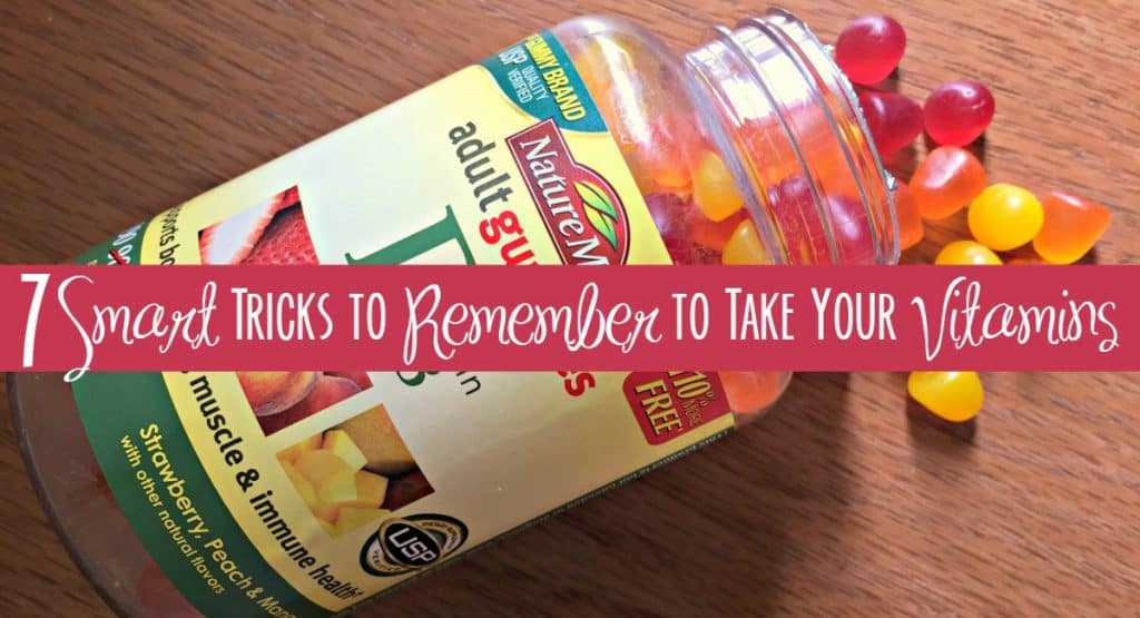 7 Smart Tricks to Remember to Take Your Vitamins 7