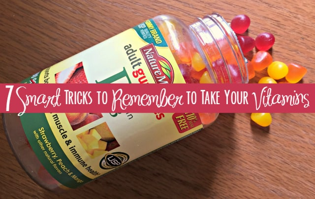 7 Smart Tricks to Remember to Take Your Vitamins