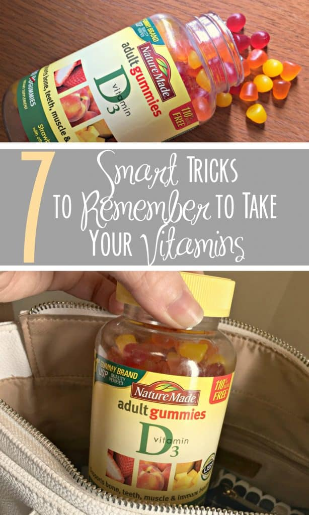 7 Smart Tricks to Remember to Take Your Vitamins pin