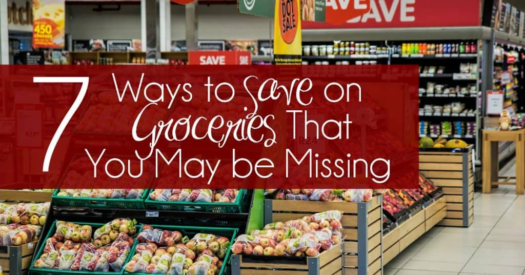 7 Ways to Save on Groceries That You May be Missing facebook