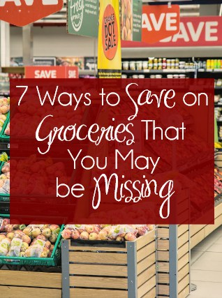 7 Ways to Save on Groceries That You May be Missing #ad #SaveWithHopster | Save Money | Spend Less | Grocery Shopping