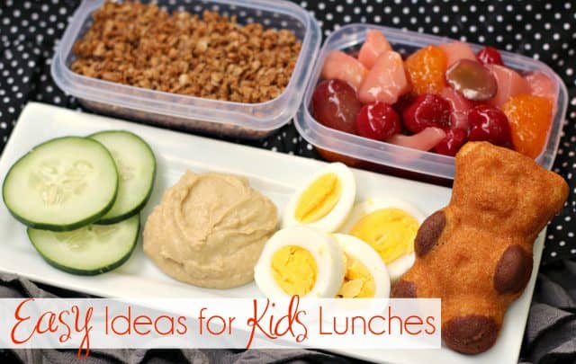 Easy Ideas for Kids Lunches feature