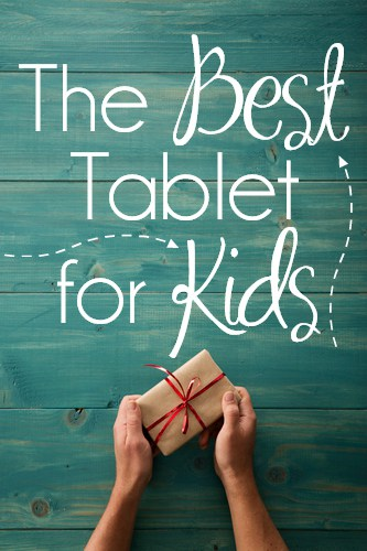 The Best Tablet for Kids pin