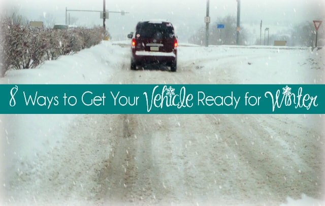 8 Ways to Get Your Vehicle Ready for Winter