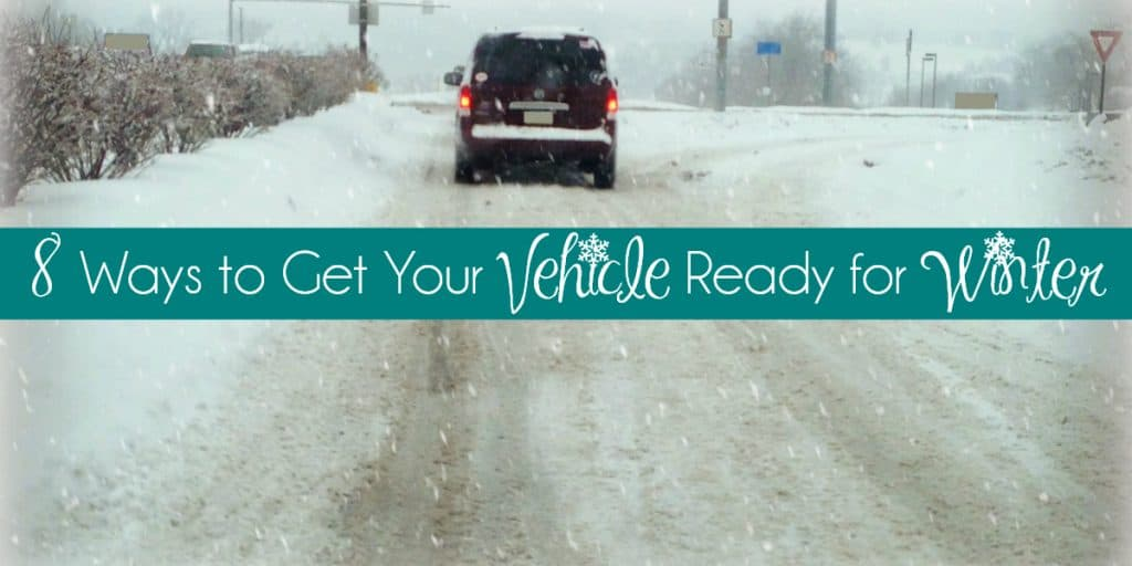 8 Ways to Get Your Vehicle Ready for Winter #Winter #Safety #VehicleRepair #RoadSafety