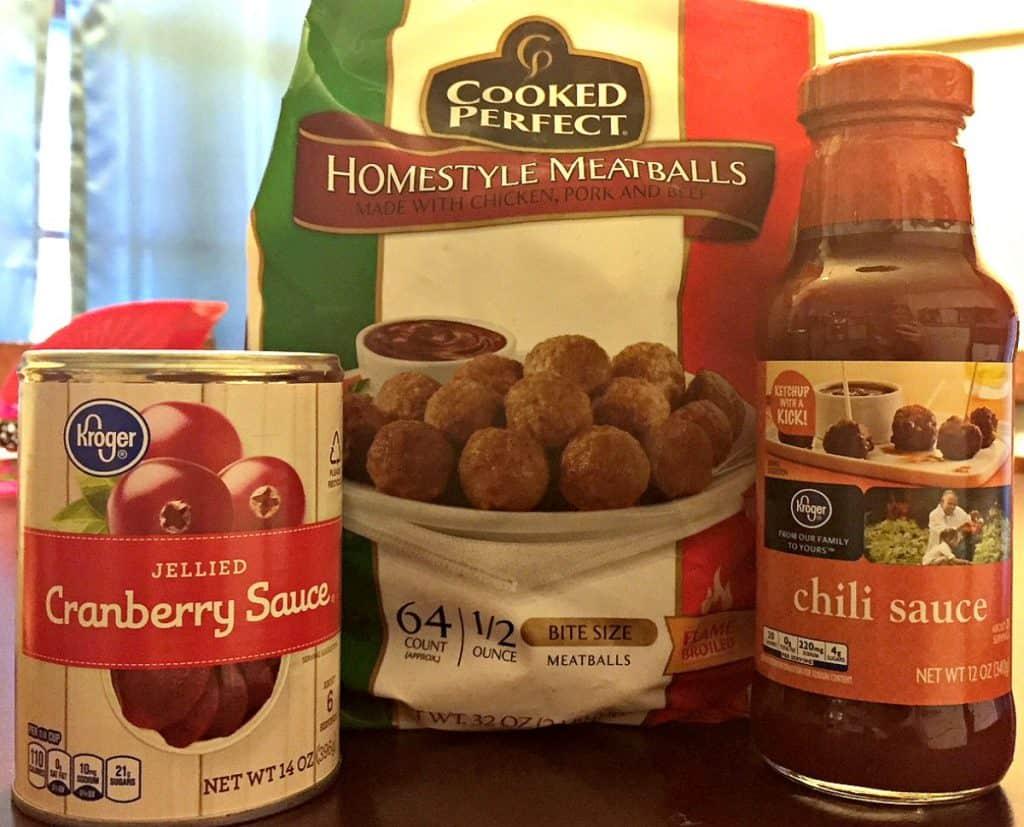 Cranberry Sauce Meatballs | 3 Ingredient Recipe | Appetizer | Snack | Holiday Appetizer | CrockPot Meatballs | Slow Cooker Meatballs #meatballs #appetizer #easyappetizers #slowcookermeatballs