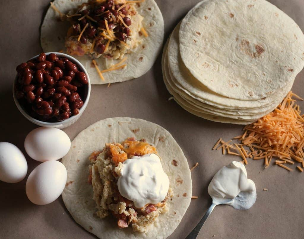 Easy Slow Cooker Breakfast Tacos Recipe