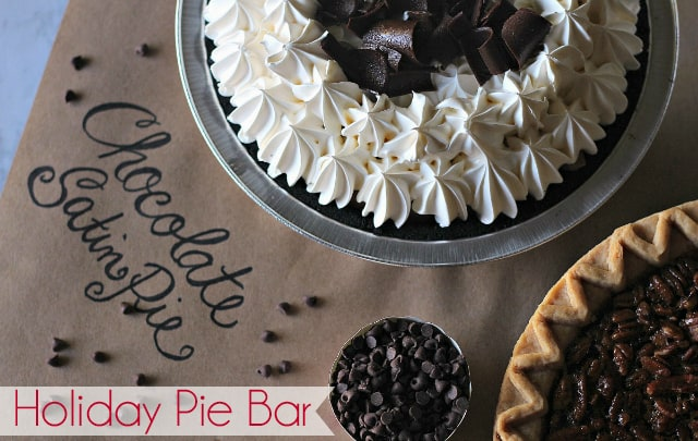 Holiday Pie Bar - Tips and Tricks for a Beautiful Holiday Pie Buffet - #ad #TurkeyDayTips #CollectiveBias | Thanksgiving Recipes | Christmas Recipes | Pie Buffet | Pie Bar | How to Cook a Turkey | #pie #piebuffet #dessertbuffet #Thanksgiving #Christmas #HostingThanksgiving