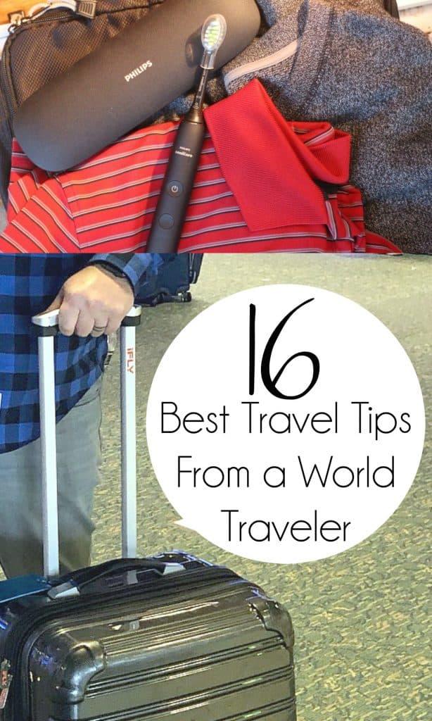 Best Travel Tips From a World Traveler