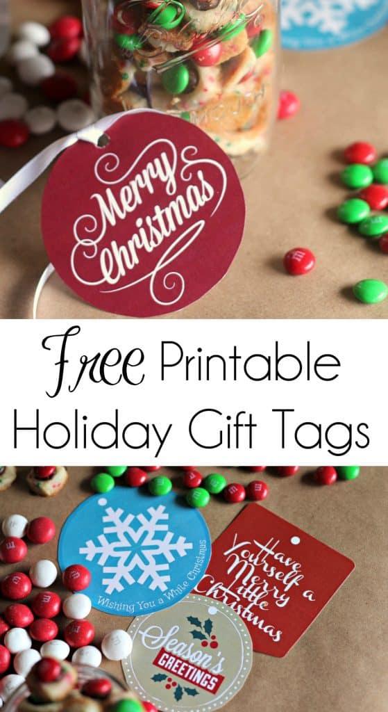 Free Printable Holiday Gift Tags | #Printables #FreePrintables #FreeChristmasPrintables #ChristmasGiftTags #GiftTags