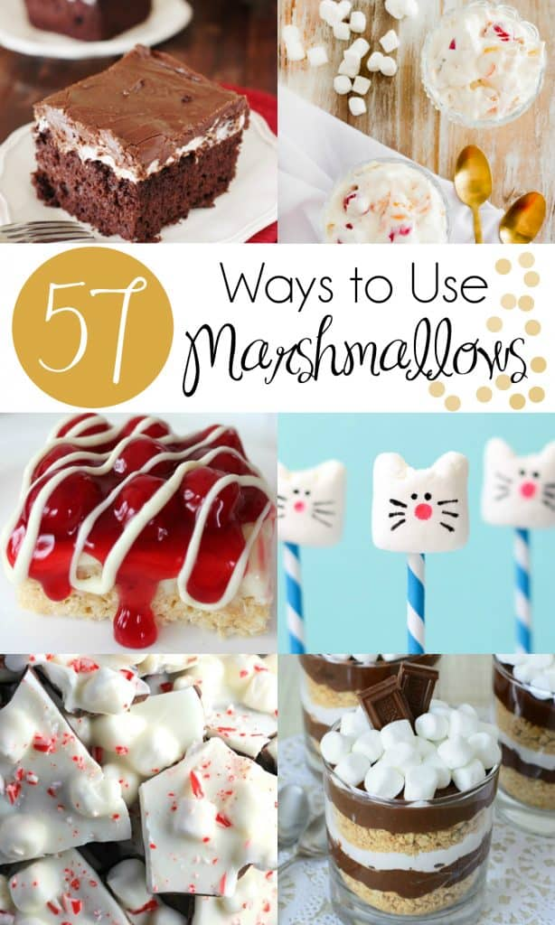 57 Ways to Use Marshmallows | #Marshmallows #MarshmallowRecipe #MarshmallowPops | Marshmallow Recipe | Homemade Marshmallows | Marshmallow Pops