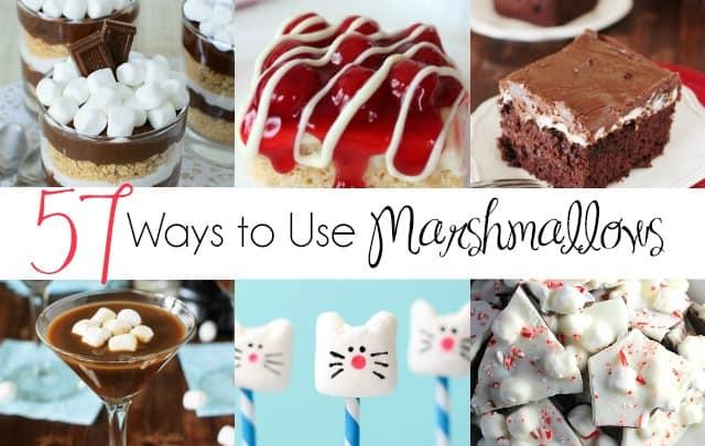 57 Ways to Use Marshmallows