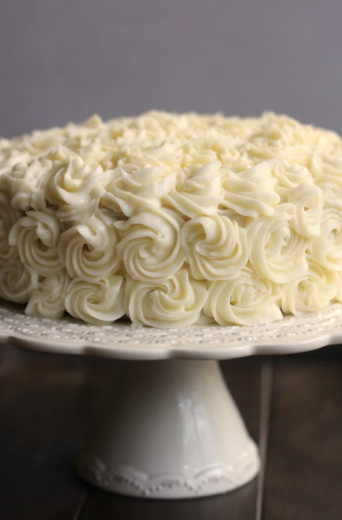 Wedding Cake Recipe.White Cake