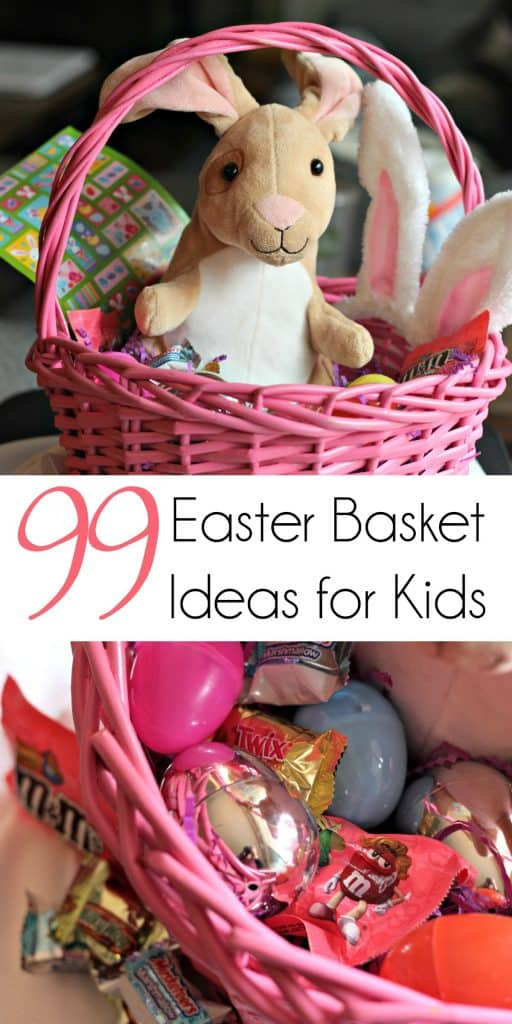 99 Easter Basket Ideas for Kids Plus Free Printable Easter Bunny Footprints | Easter Basket | Easter Treats | Non Candy Easter Basket | Easter Ideas for Kids | #EasterBasket #EasterTreats #NonCandyEasterBasket #EasterCrafts #EasterDinner #EasterBunny #EasterCandy