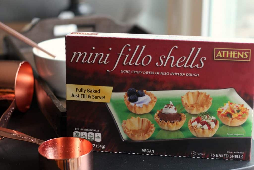 Mini Key Lime Tarts - Athens mini fillo shells