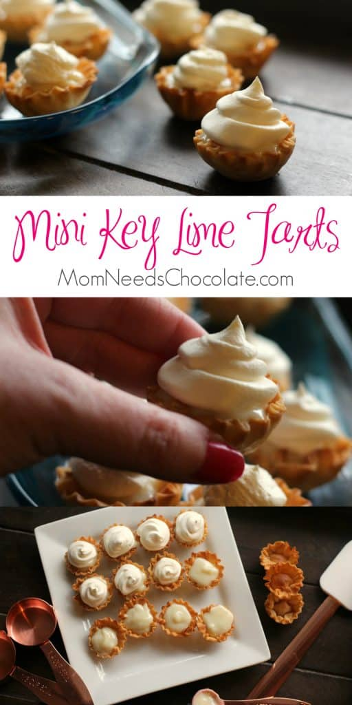 Mini Key Lime Tarts | 4 Ingredient Key Lime Mini Pie | Easter Dessert | Mini Desserts | #KeyLime #KeyLimePie #KeyLimeTart #EasterDessert #EasterSnack #MiniDessert #CoolWhip #PhylloDough