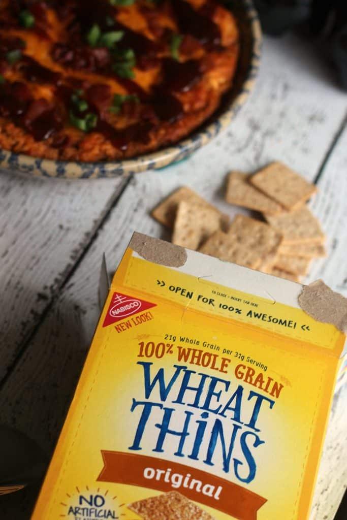 BBQ Chicken Dip Recipe | Wheat Thins
