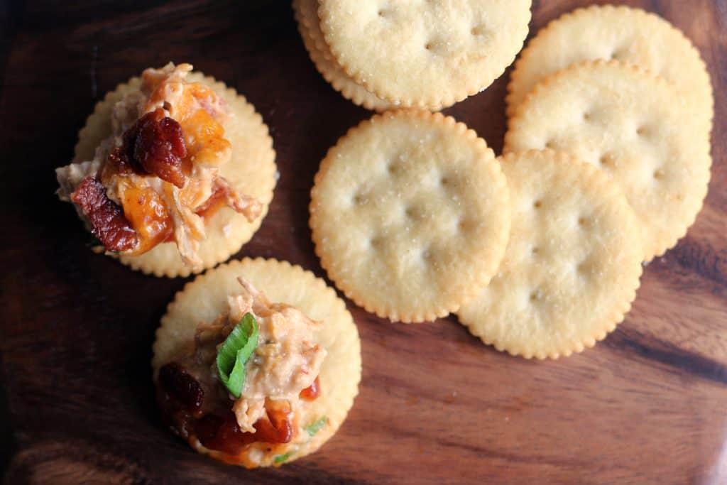 BBQ Chicken Dip Recipe | RITZ crackers