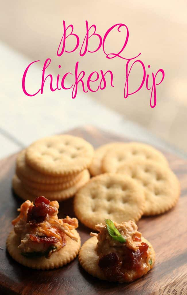 BBQ Chicken Dip Recipe | Game Day Snacks | Buffalo Chicken Dip | Baked Dip | Bacon Dip | #BBQChickenDip #BuffaloChickenDip #RitzCrackers #WheatThins #Triscuit