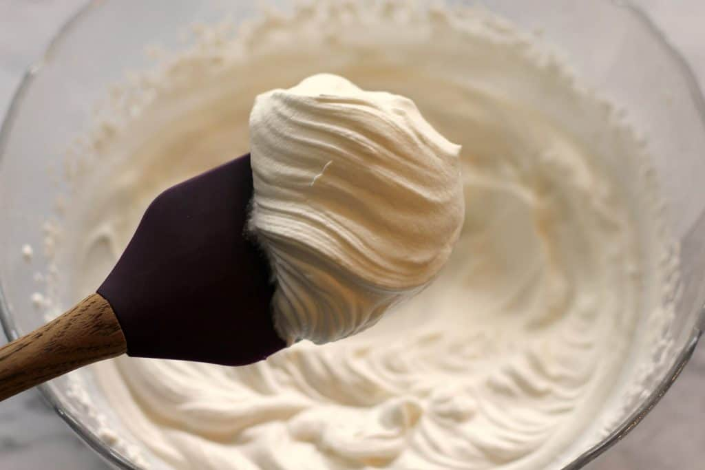 Whipped cream for No Bake Mini Peanut Butter Cheesecakes