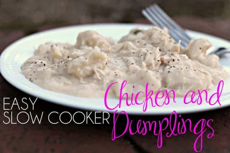 Easy Chicken And Dumplings Slow Cooker Recipes