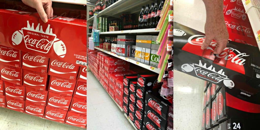 Coca-Cola and Coke Zero Sugar at Walmart