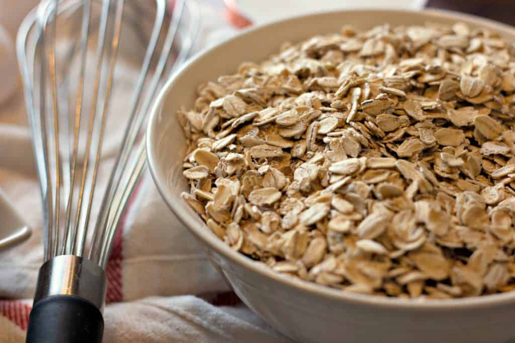 Old fashioned oats for Baked Pumpkin Pie Oatmeal