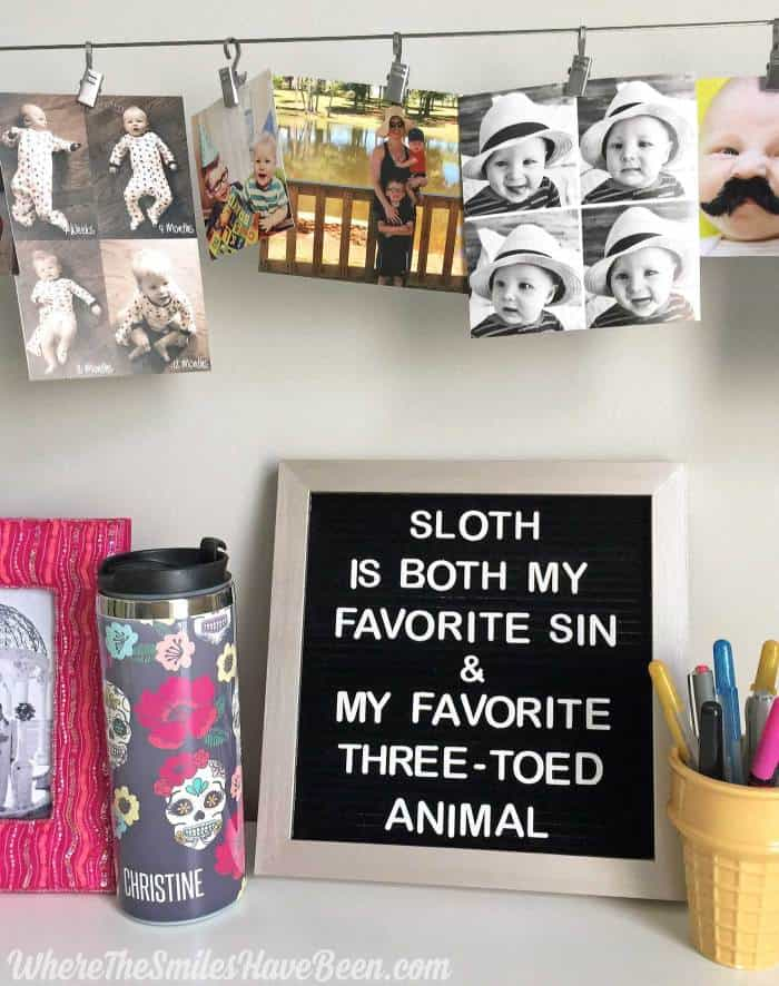 More letter board ideas from Where the Smiles Have Been