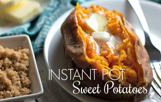 Instant Pot Sweet Potatoes