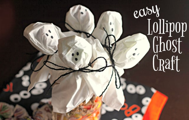 Lollipop Ghost Craft