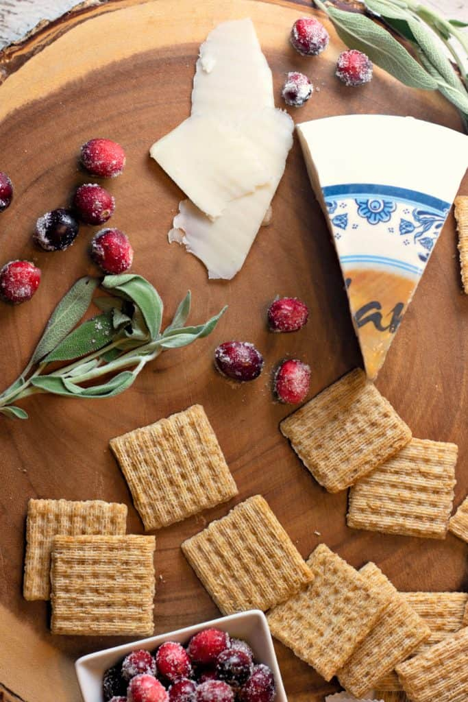 Triscuit for the Holidays! How do you top your Tricuit? #HolidaysWithTriscuit #ad #IC #Crackers #Tricuit #Cheese #CheeseTray #CheeseAndCrackers