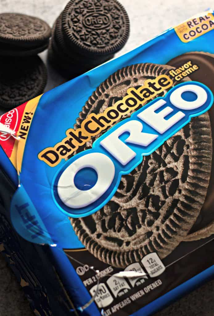 OREO Dark Chocolate cookies from Nabisco