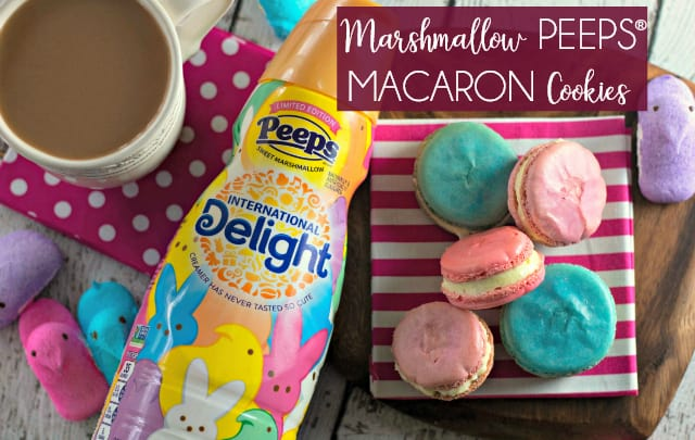 Marshmallow PEEPS® Macaron Cookies