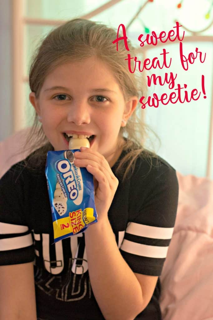 15 Best Ideas for Packing a Summer Camp Care Package | An Oreo Cookies and Creme Bar for my daughter at summer camp