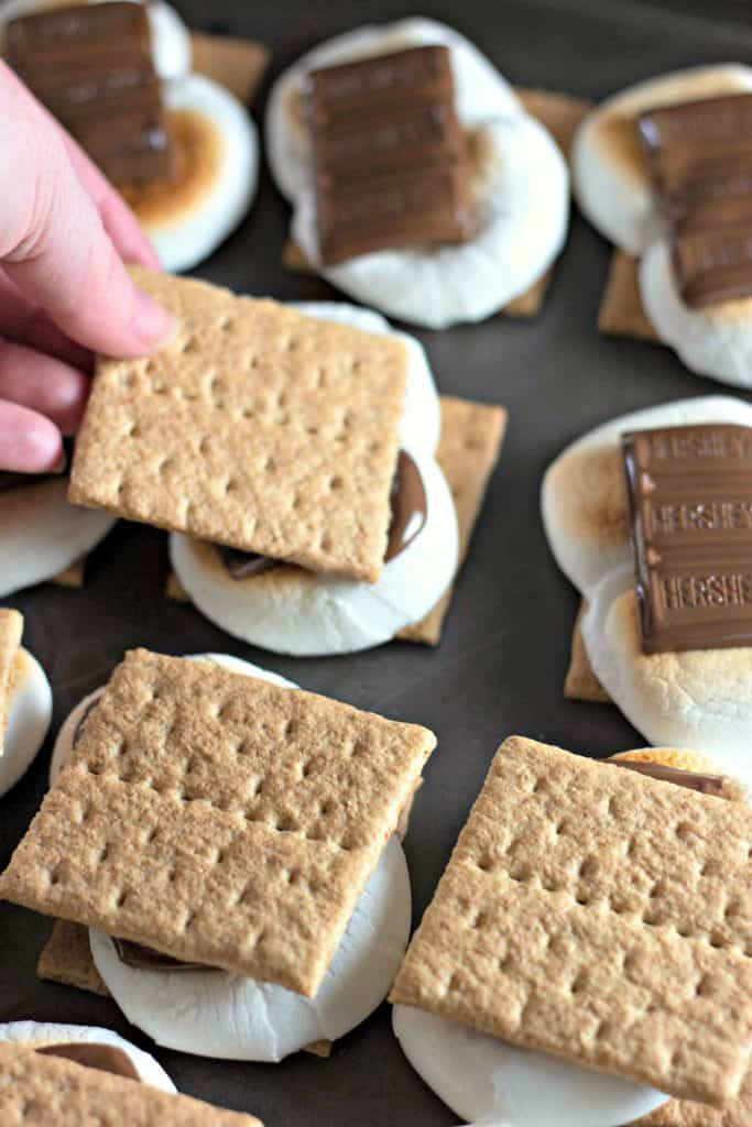 Oven Baked S'mores
