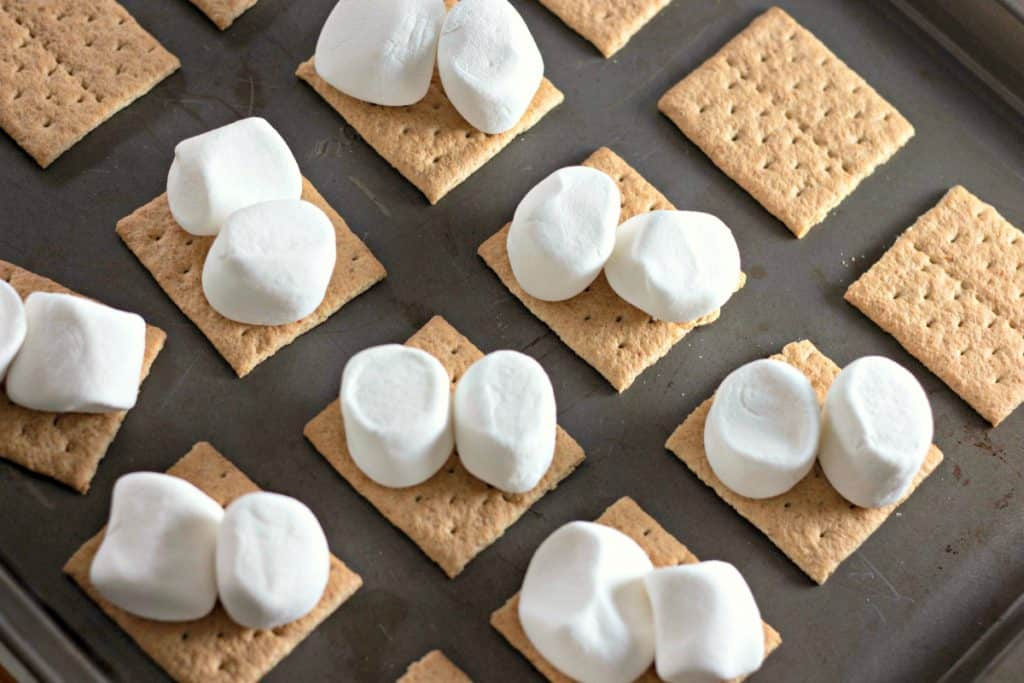 How to make Oven Baked S'mores