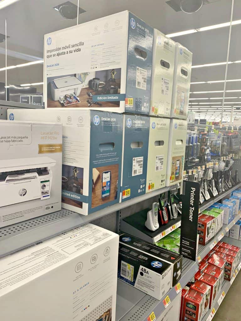 HP Printer at Walmart