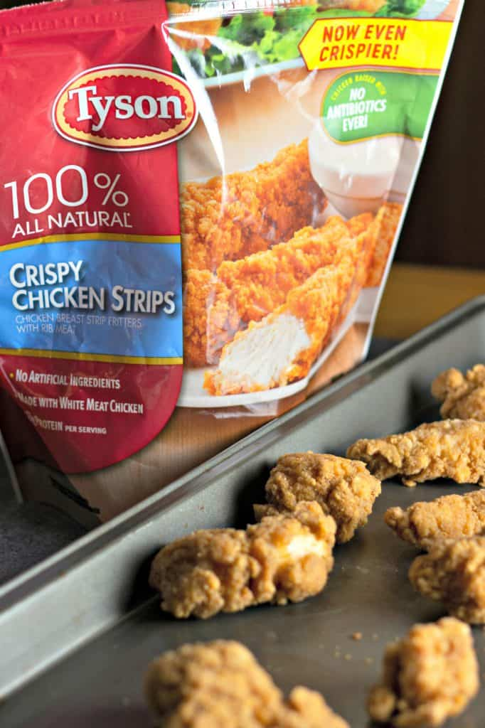 Sticky Sweet Crispy Chicken Strips