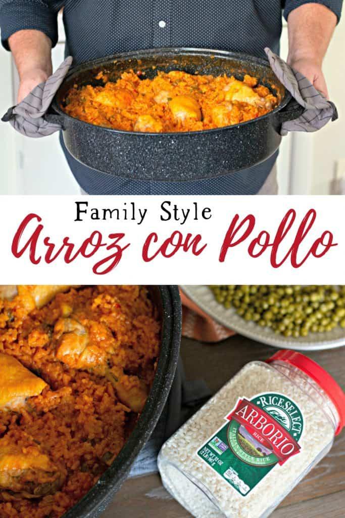 Family Style Cuban Arroz con Pollo