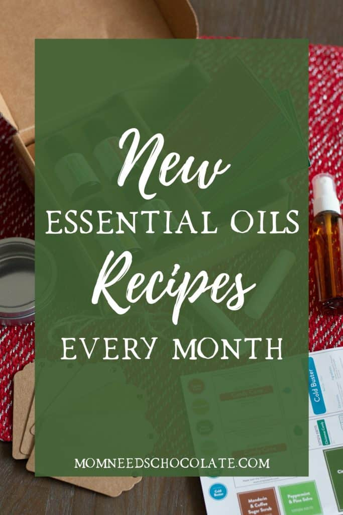 Simply Earth December Essential Oils Recipe Box