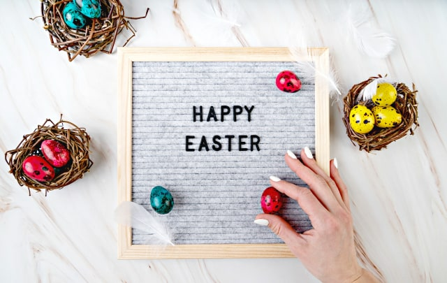 31 Letter Board Quotes for Easter and Spring