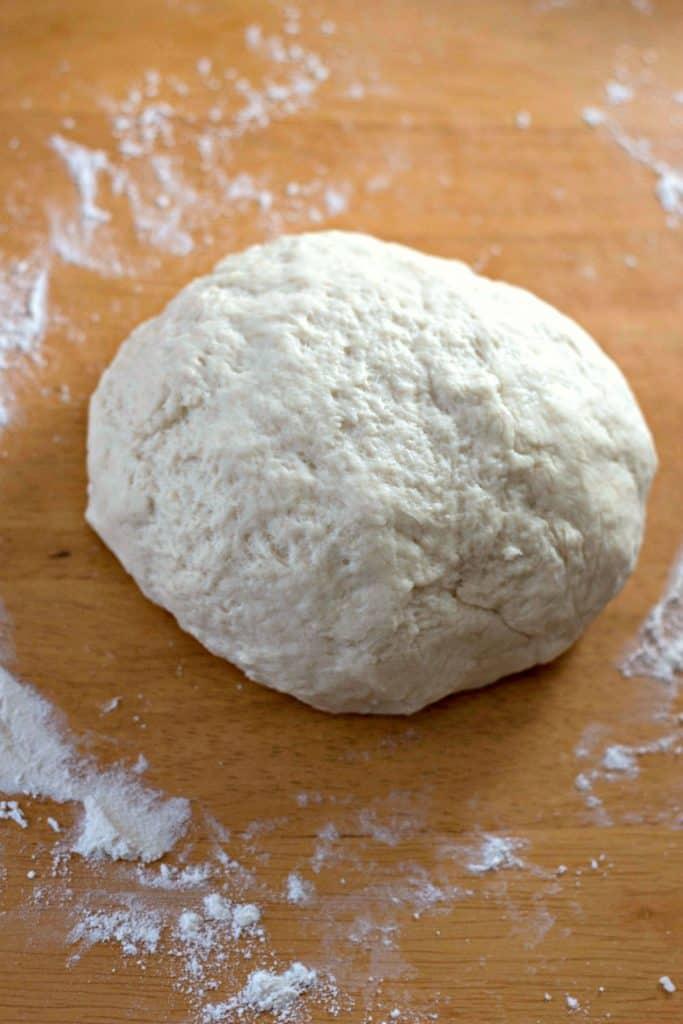Homemade Flour Tortilla dough