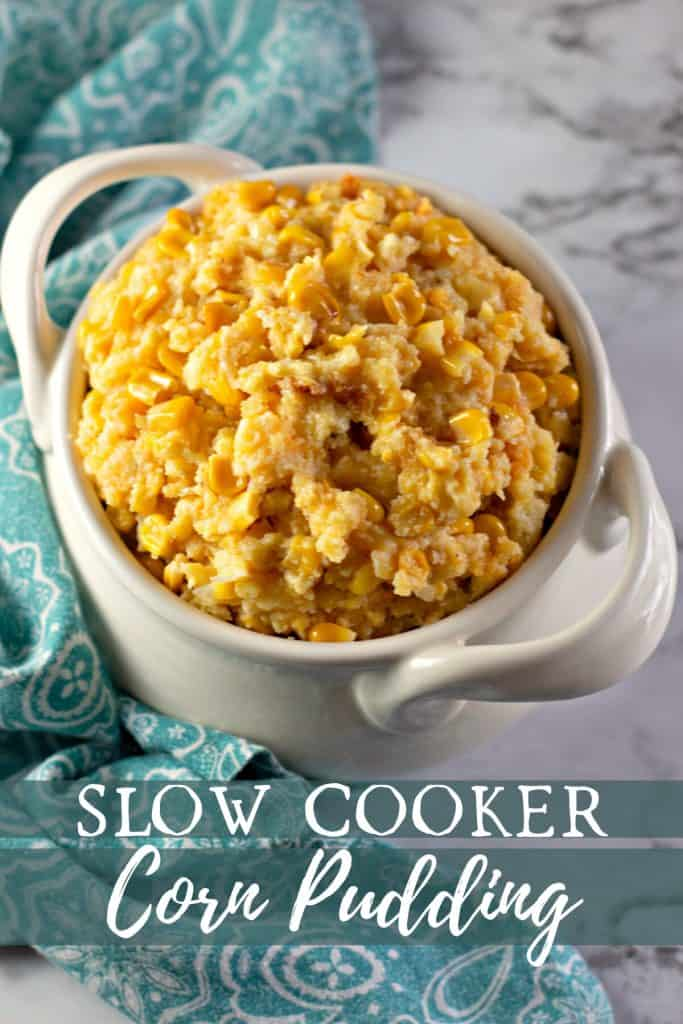 The Best Slow Cooker Corn Casserole