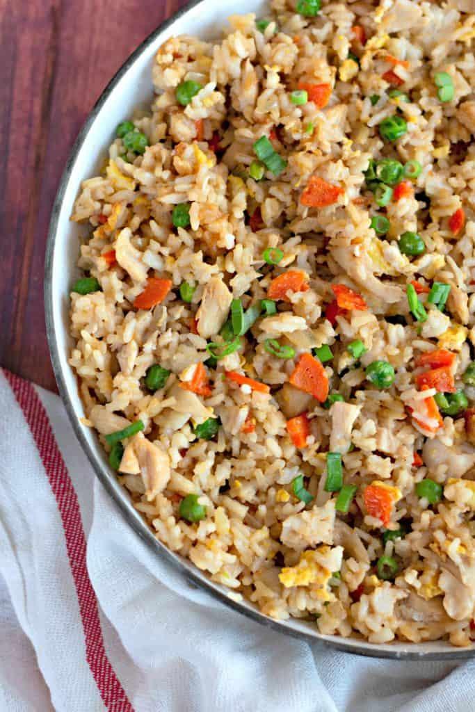Homemade Chicken Fried Rice
