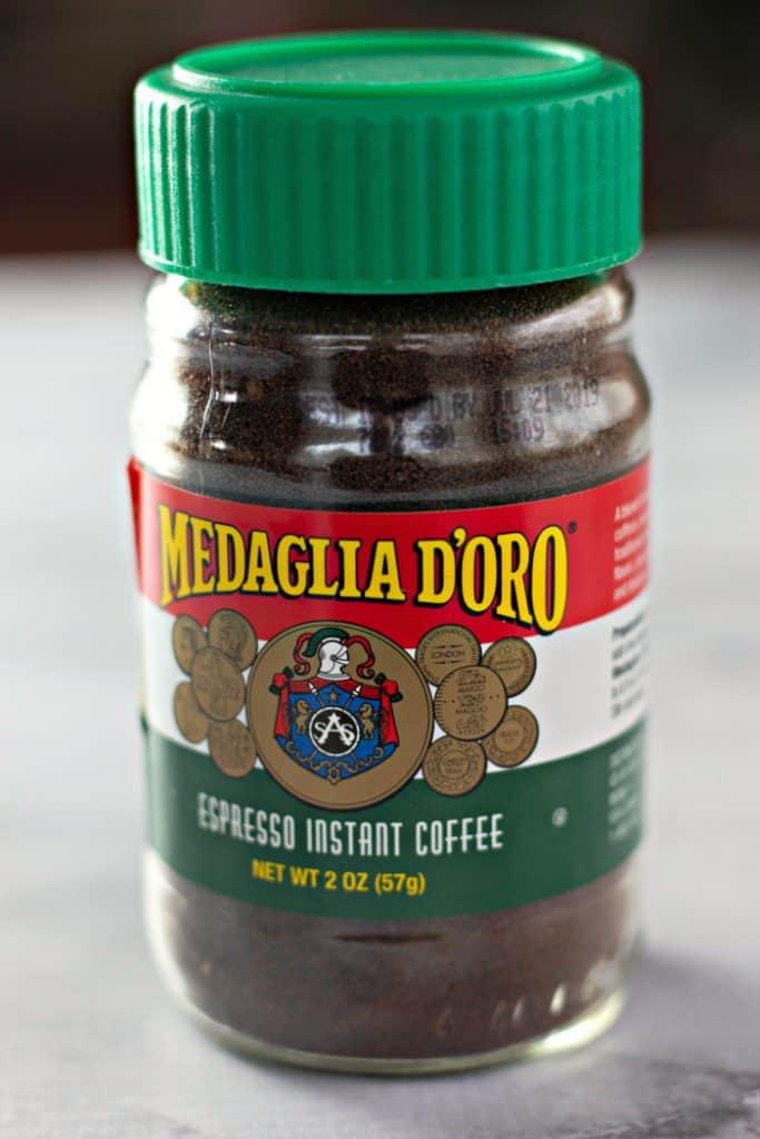 Medaglia D'Oro instant espresso to make Whipped Coffee - Dalgona Coffee Recipe