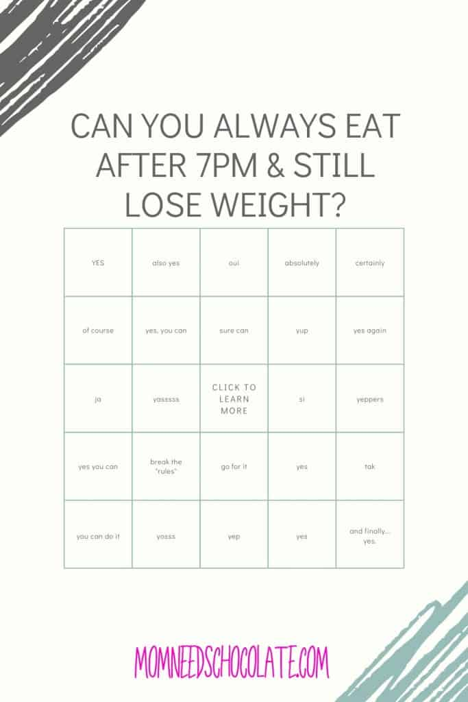 Why I Will Always Eat After 7PM on Pinterest