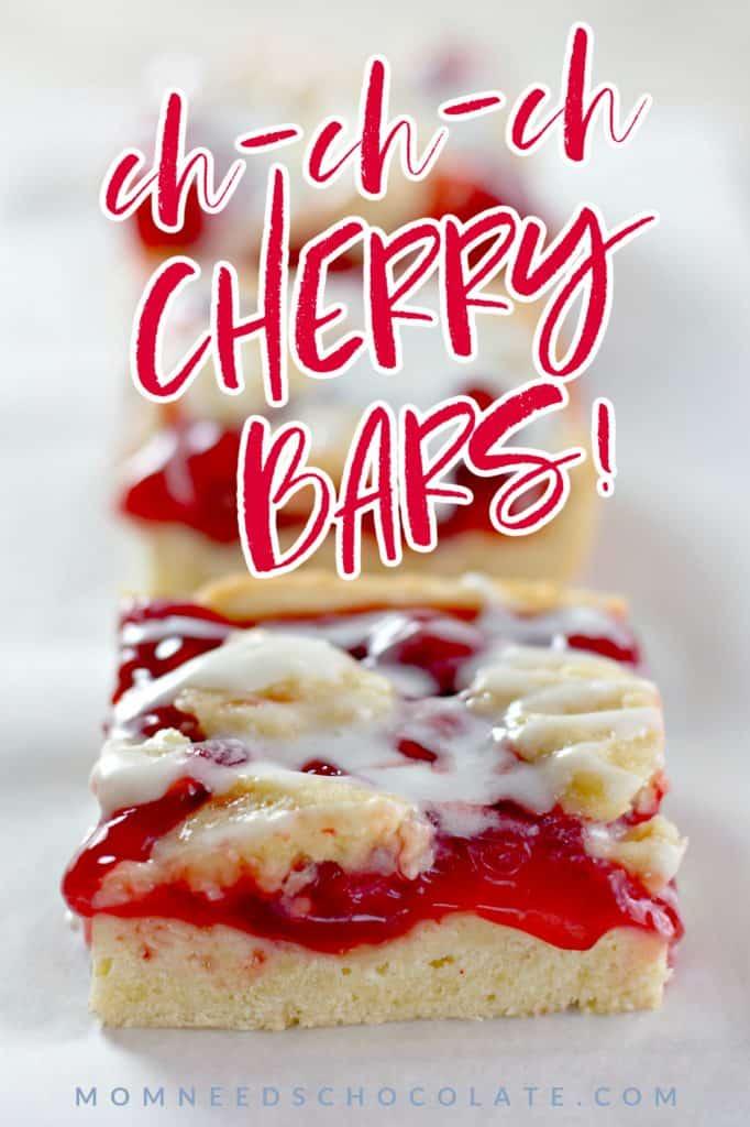 Cherry Pie Bars on Pinterest