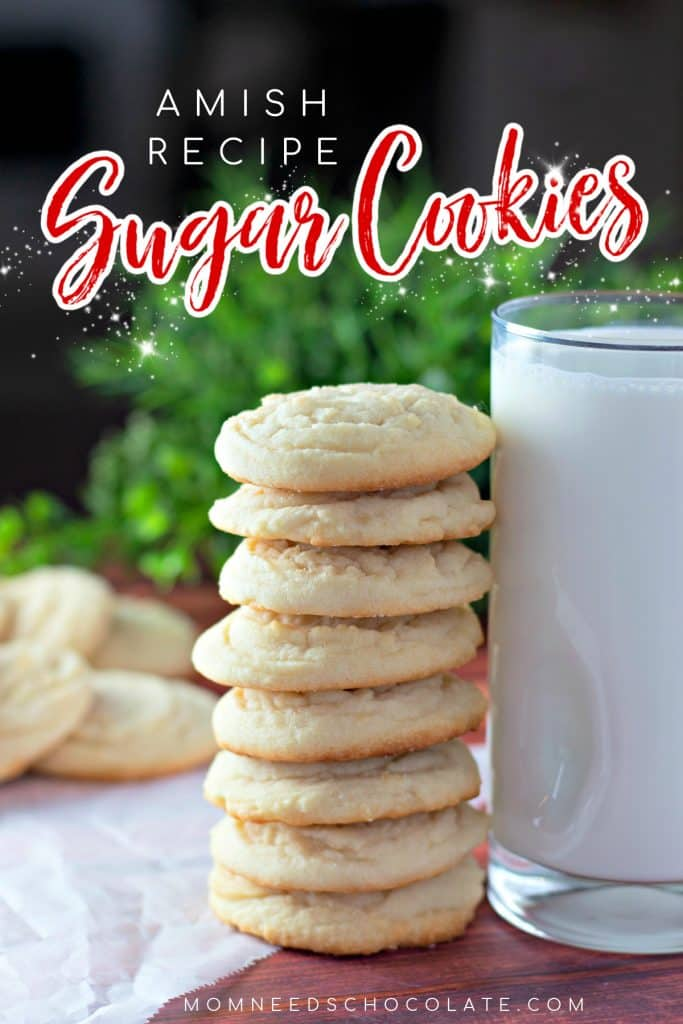Amish Sugar Cookie Recipe on Pinterest