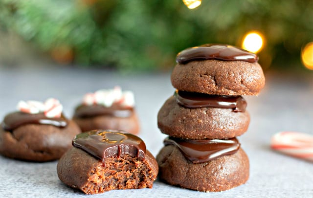 Chocolate Fudge Drop Cookies