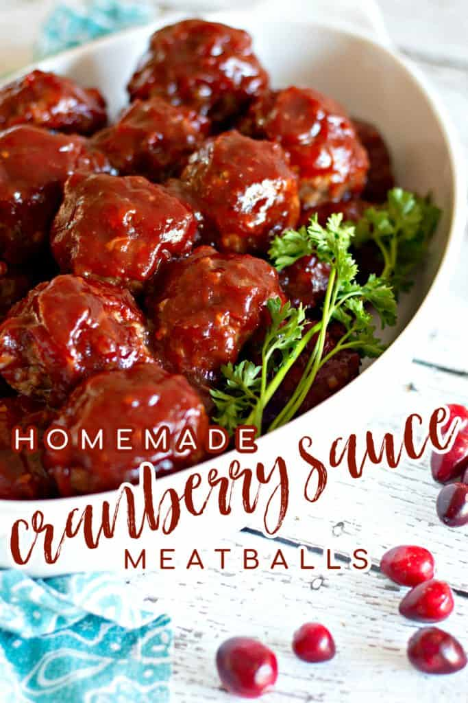 Homemade Cranberry Sauce Meatballs on Pinterest